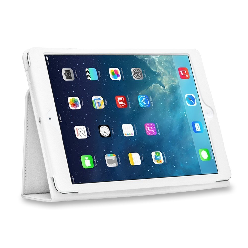 Apple IPAD AIR - Leather Case Pack - White
