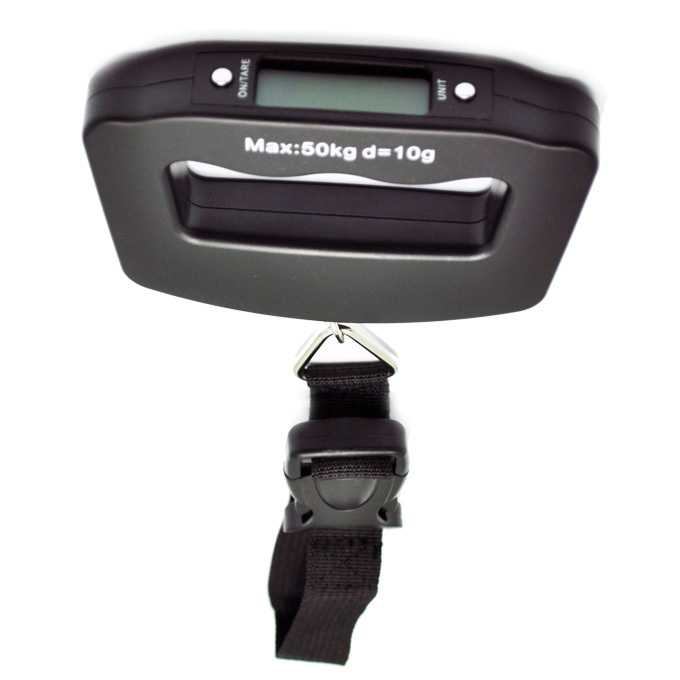 50KG PORTABLE HANDHELD DIGITAL TRAVEL LUGGAGE SCALE