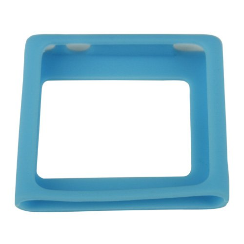 Silicon Case for iPod Nano 6 (6th Generation) - BLUE
