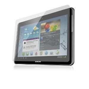 Samsung Galaxy Tab 2 10.1 Tablet LCD Screen Protector with Micro Fibre Cloth