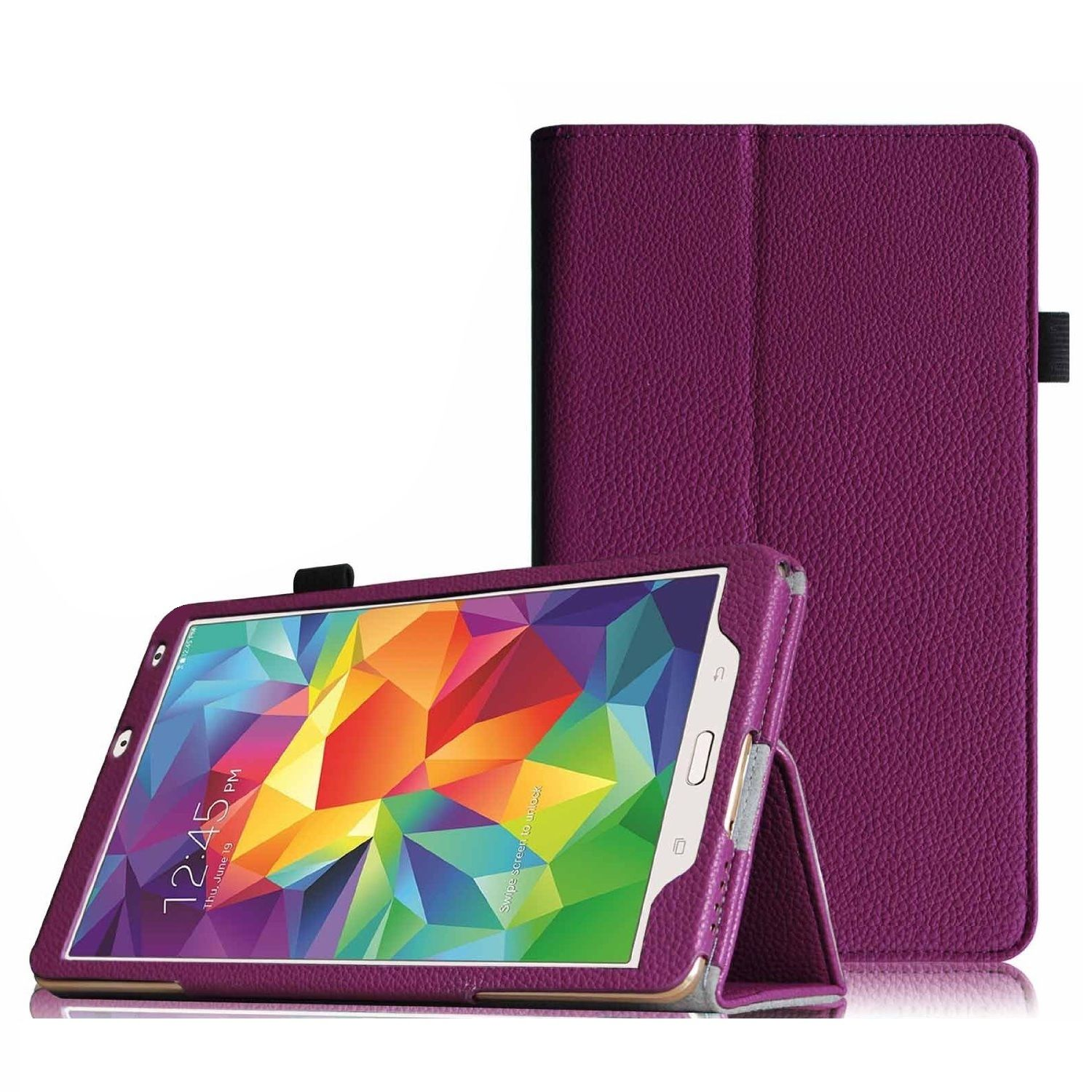 """""""Tablet leather case packs - GALAXY TAB S 8.4 INCH(PURPLE) """""""