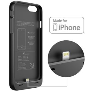 iphone 6 black battery power pack - Black