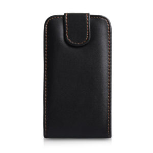 Flip case cover for Samsung C3312 Duos Black