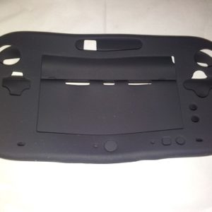 Full Body Silicone Cover for Nintendo Wii U Gamepad Controller Protective Case - Black
