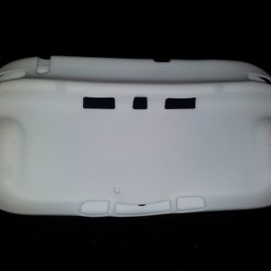 Full Body Silicone Cover for Nintendo Wii U Gamepad Controller Protective Case - White