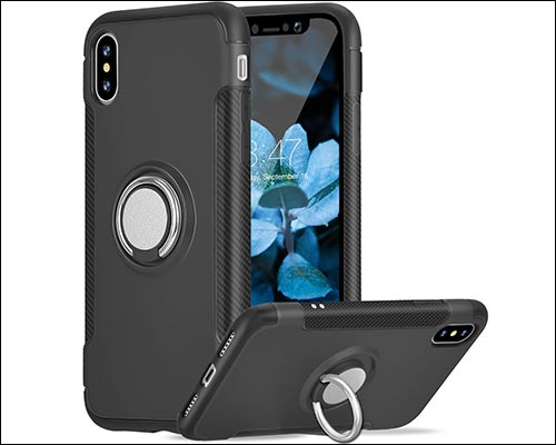 new concept d2331 a2cc8 Apple IphoneX Built In Ring Holder and Magnet